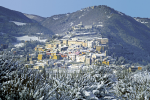 Landscapes of Valnerina. Cascia and its territory