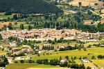 Landscapes of Valnerina. Norcia and its territory